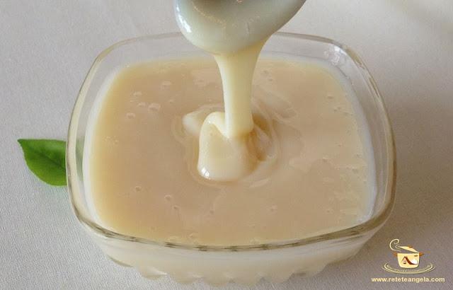 Lapte condensat de casa