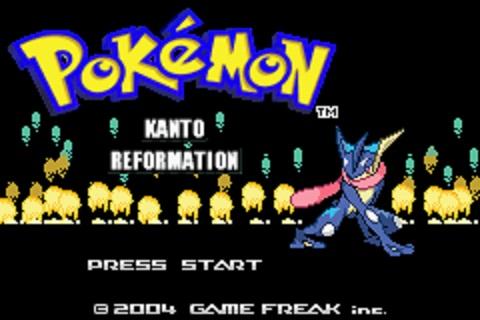 Pokemon Kanto Reformation