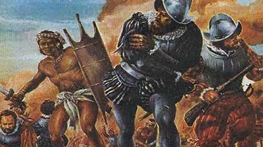 Antiguo manuscrito narra la batalla mítica entre el gigante azteca y los conquistadores