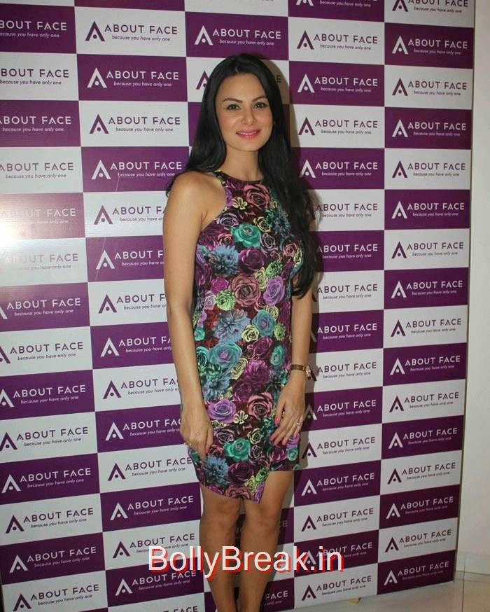 Aanchal Kumar, Malaika Arora Khan Hot HD Images At About Face skin care & Aesthetics Center Launch