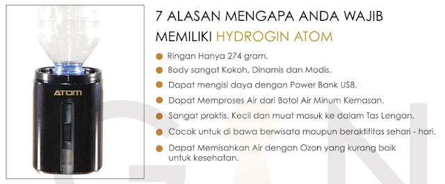 Alasan Memilih Hydrogin Atom