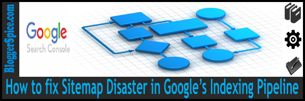 How to fix Sitemap Disaster in Google's Indexing Pipeline?