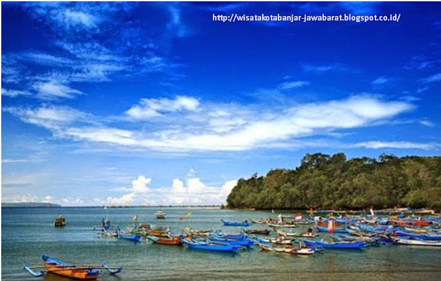 Objek Wisata  Saung Muara Pangandaran