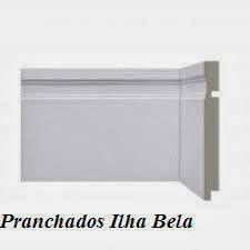Rodapé de Poliestireno Santa Luzia 515 Branco