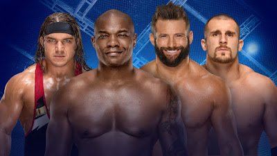 Chad Gable & Shelton Benjamin vs. The Hype Bros Hell in a Cell 2017 Kick off Match