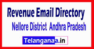 Nellore District Andhra Pradesh State Revenue Email Directory