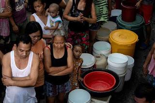 FOTOS: FILIPINAS SE ESTA QUEDANDO SIN AGUA.