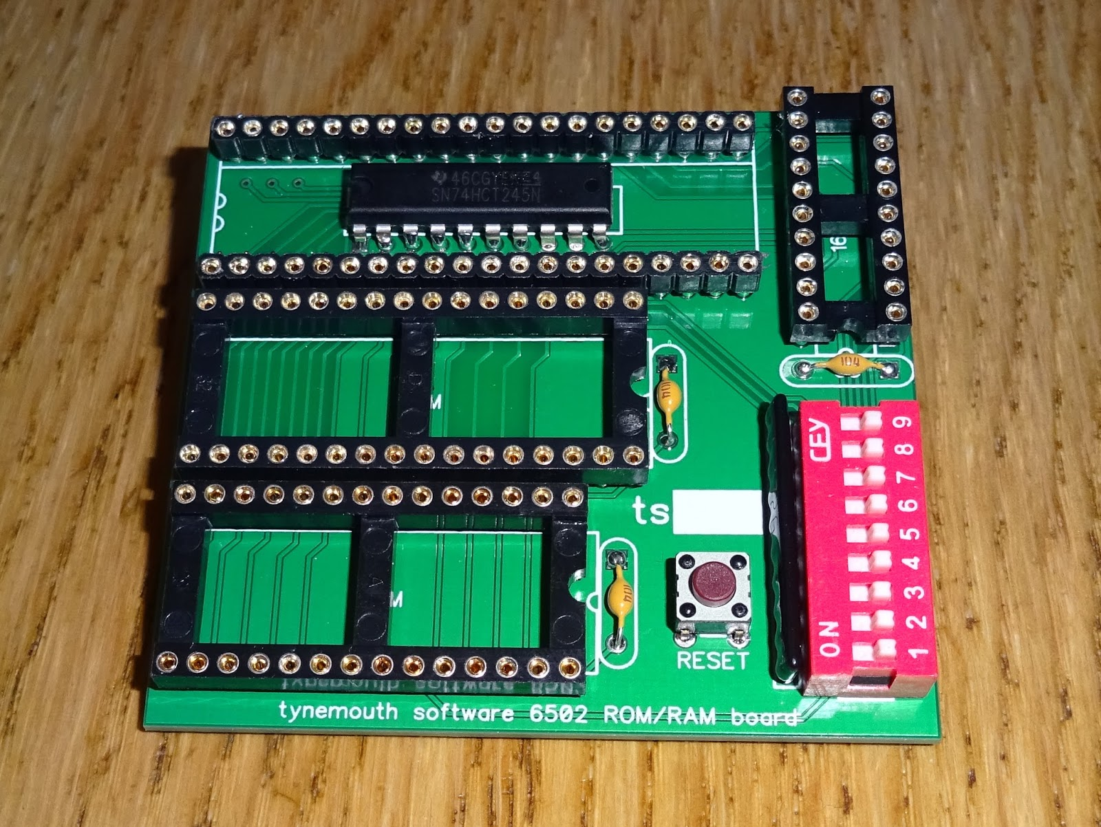 Commodore Pet ROM/RAM replacement boards - Tynemouth Software