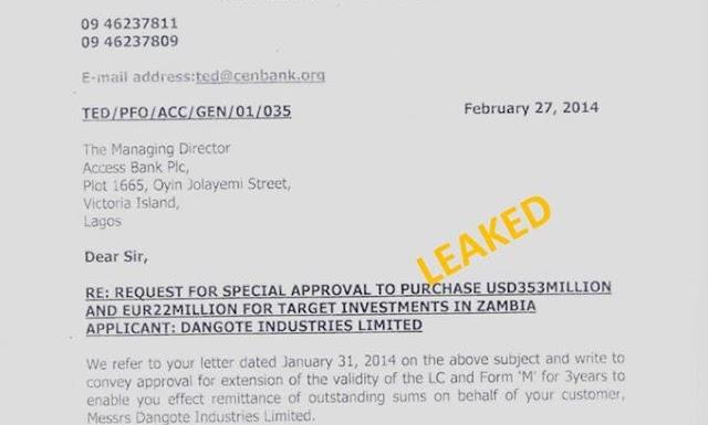 REVEALED:Secrete Document Exposes the Cabals Behind Nigeria's Distressed Economy