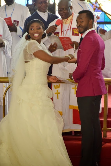 oc ukeje and wife ibukun wedding photos