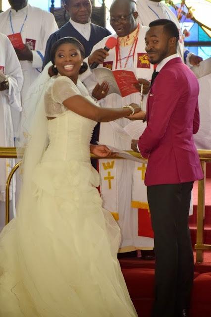 oc ukeje and wife ibukun wedding photos
