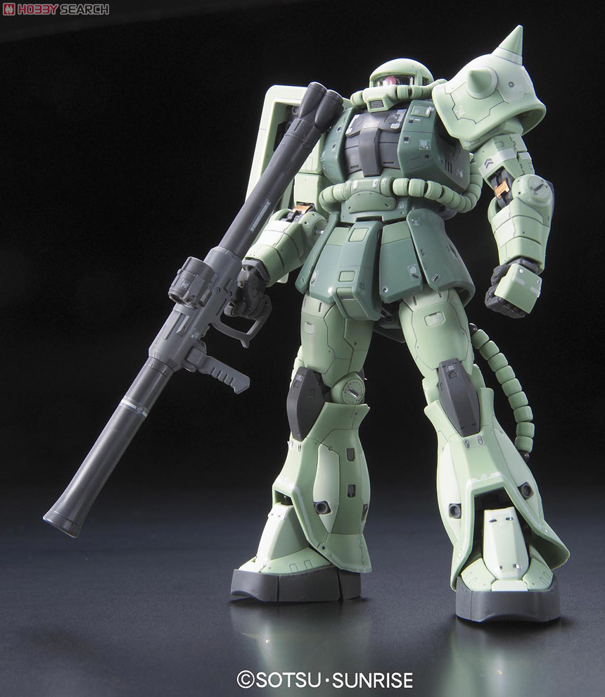 The 4th Real Grade - MS-06F Zaku II - Available in stores ...