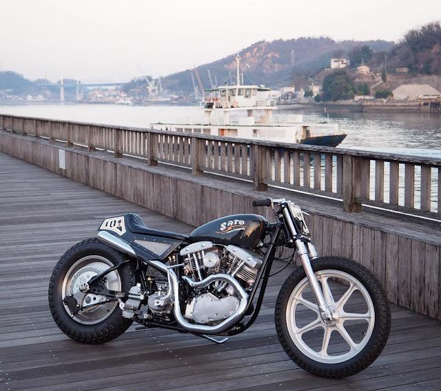 Harley Davidson Shovelhead 1968 By Sato Marine Cycles Hell Kustom