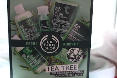The Body Shop's Tea Tree Skincare Kit