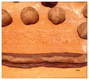 composizione pane al latte leopardato