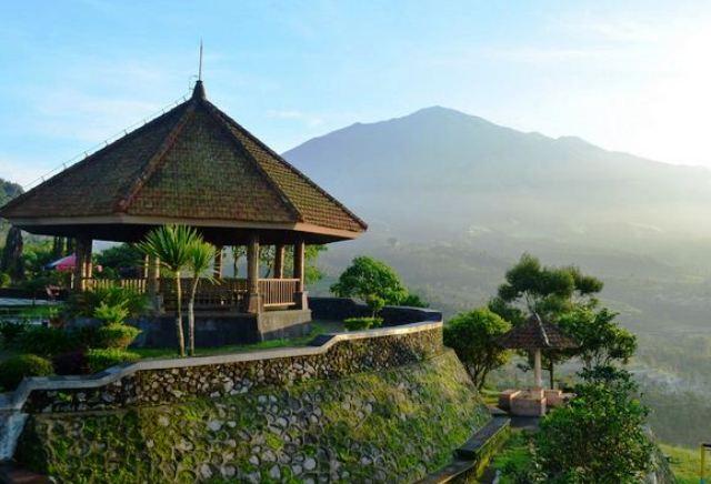 tempat wisata magelang ketep pass