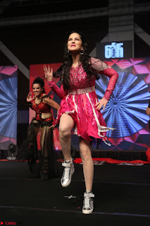 Sunny Leone Dancing on stage At Rogue Movie Audio Music Launch ~  207.JPG