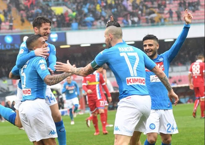Napoli-Spal 1-0, Allan per rimanere in testa alla classifica