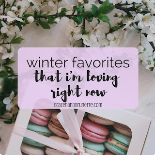The 9 finds that I'm loving during this winter are PopSockets, Emily Ley, European Wax Center, Spotify + Hulu, FastWeb, Echo Routines, SkimmNotes, Great Wolf Lodge, iPhone X + Apple Heart Study | brazenandbrunette.com