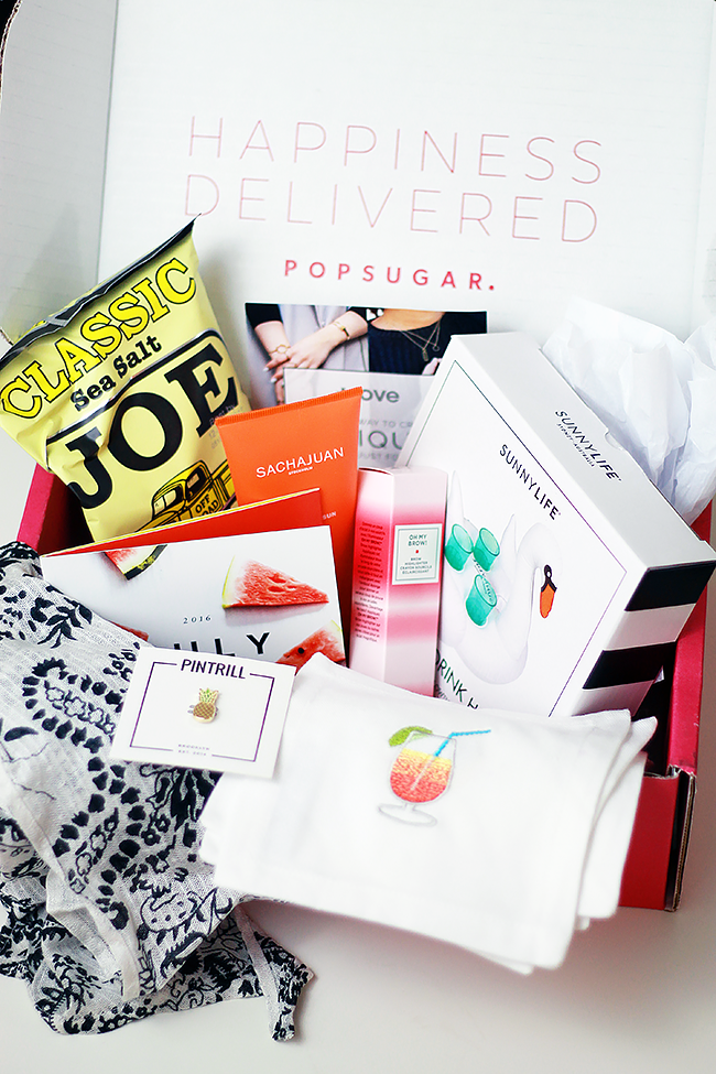 July POPSUGAR Must Have Box
