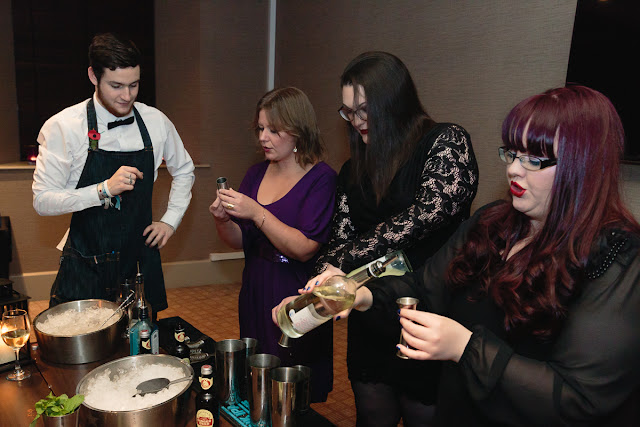cocktail making
