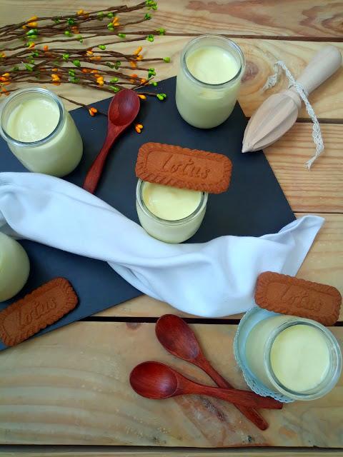 Tarta de queso con limón y leche condensada en vasitos. Lemon & Condensed milk cheesecake. Postre sin horno. Sencillo. Rico.Fácil. Navidad. Verano. Comidas familiares. Cuca