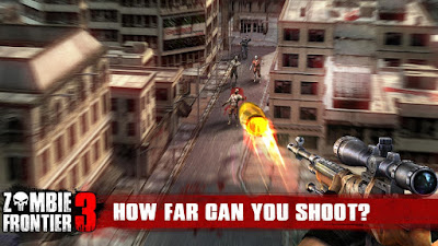 Zombie Frontier 3 (Unlilmited Money) Mod Apk for Android