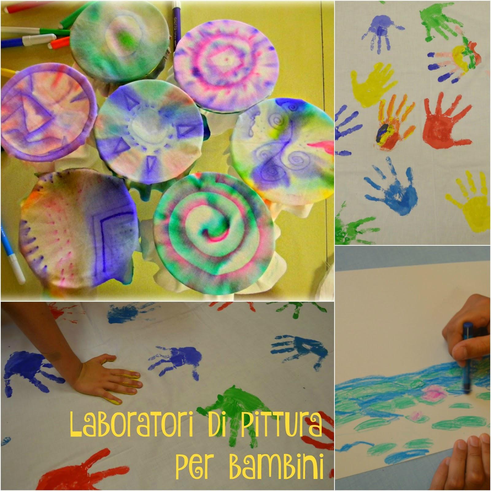 Eccezionale Il blog di Daniela Fava: Laboratori di Pittura per bambini JE31