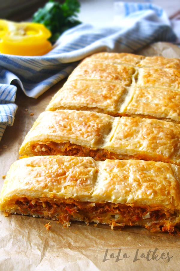 Испанский пирог с тунцом (empanada de atun)
