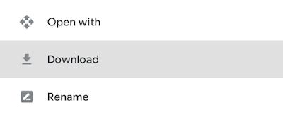 file drive offline