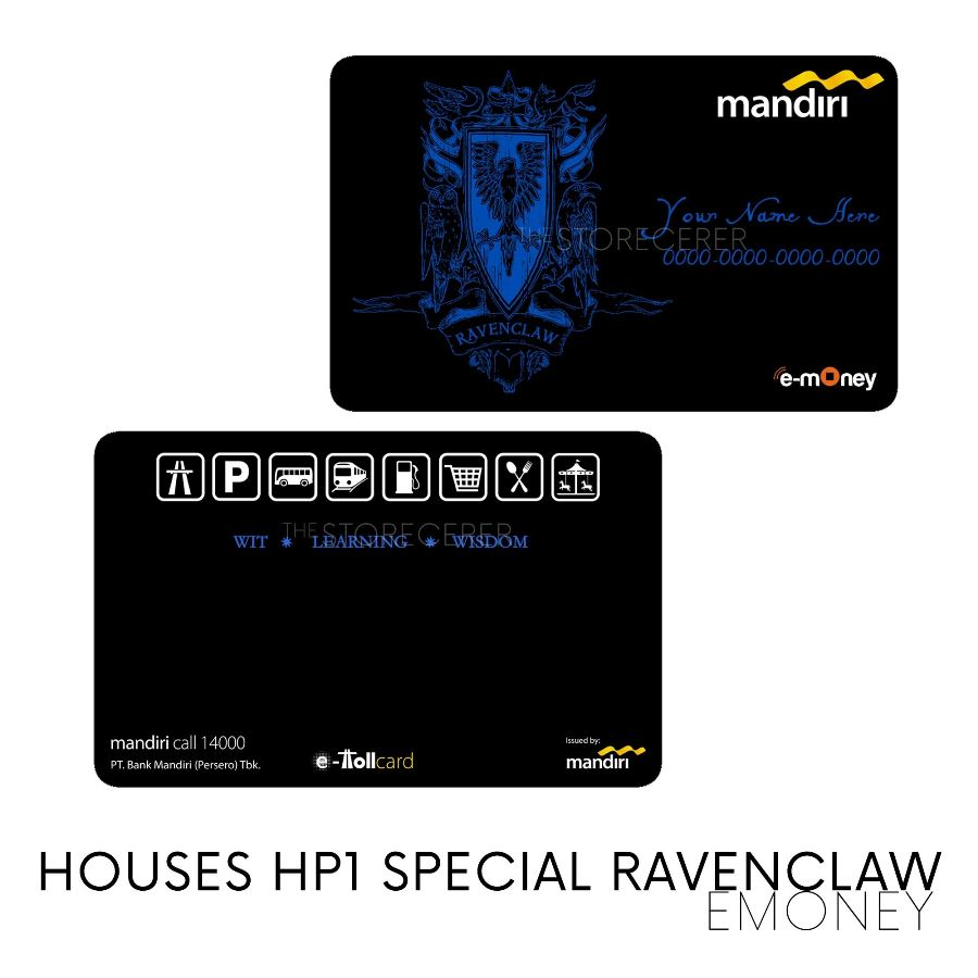 E-Money Ravenclaw Special Edition