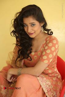 Telugu Actress Santoshi Sharma Latest Stills in Salwar Kameez at HBD Movie Teaser Launch  0094.JPG