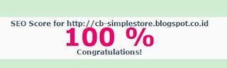 skor seo 100 cb simple store