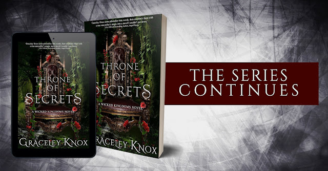 Throne of Secrets by Graceley Knox Cover Reveal