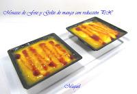 Mousse de Foie y Gelée de Mango con reducción de PX