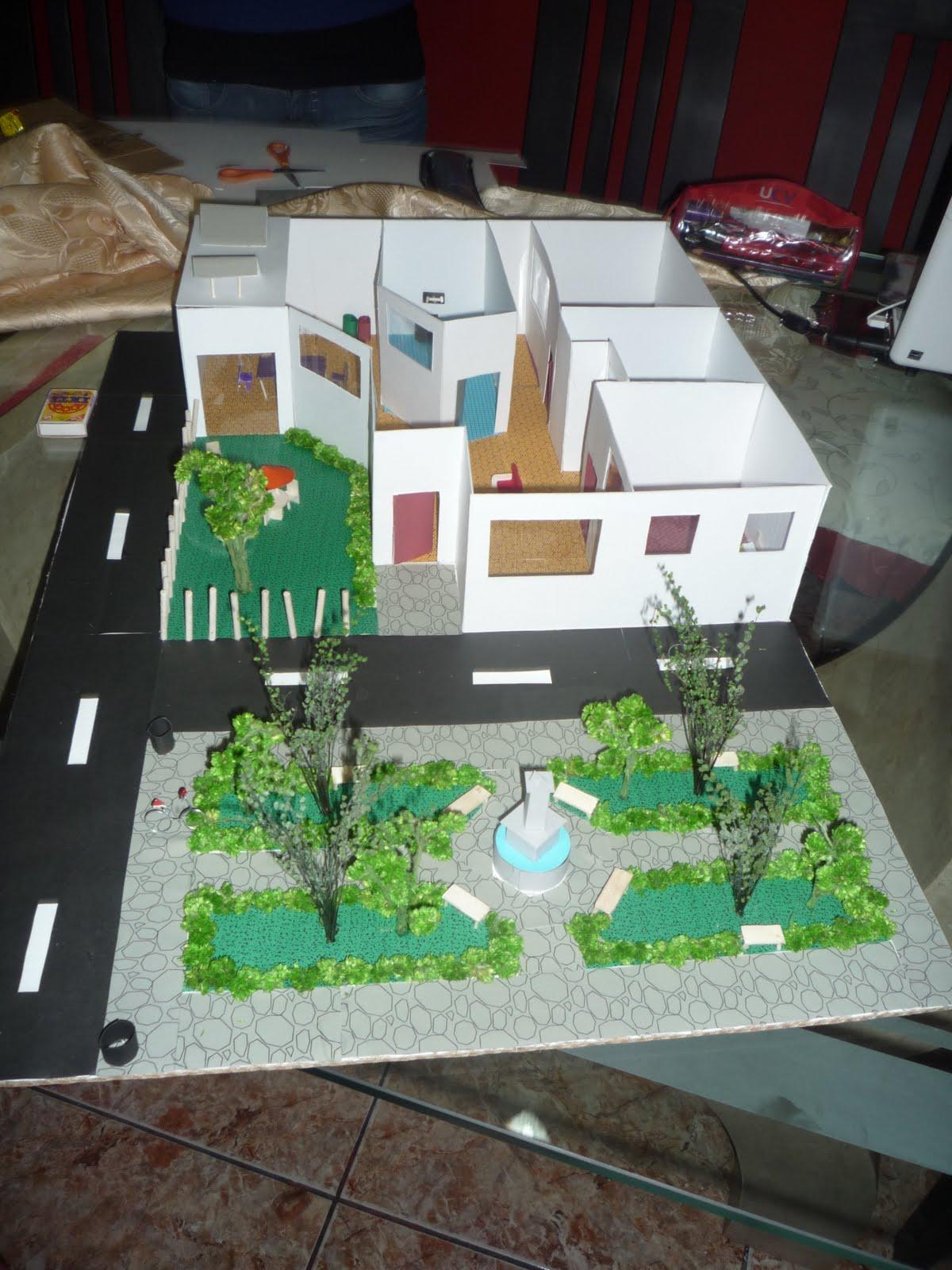 Cultura Ambiental Maqueta Ecologica