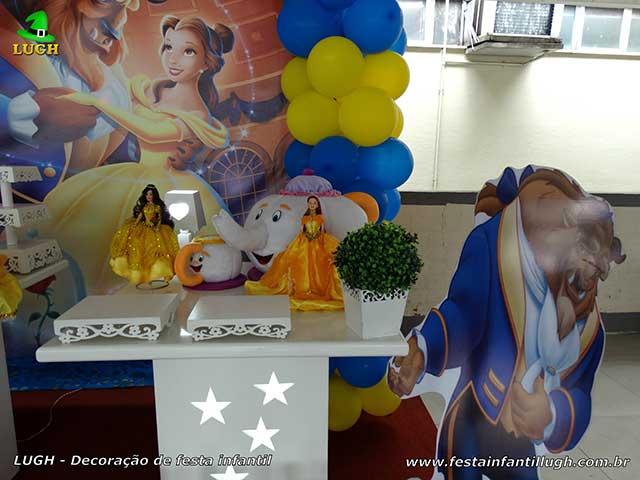 Festa infantil A Bela e a Fera - Decoração provençal para festa de aniversário