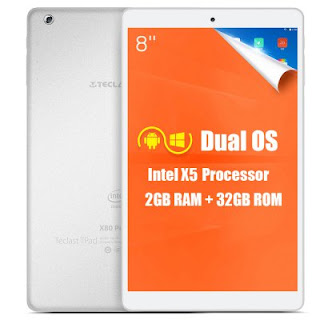 information rearding the availability of the Teclast X80 Power when and where it will be released