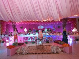 Festa Princesas da Bíblia
