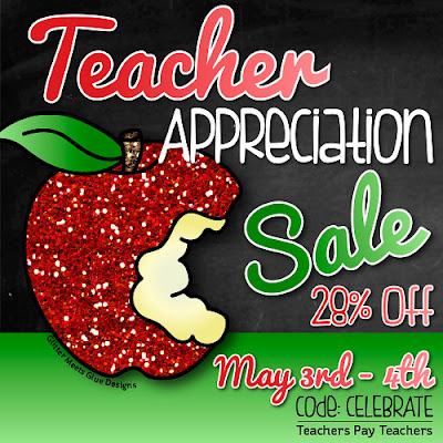Save 28% at The ESL Nexus during TpT's Teacher Appreciation Sale on May 3-4, 2016
