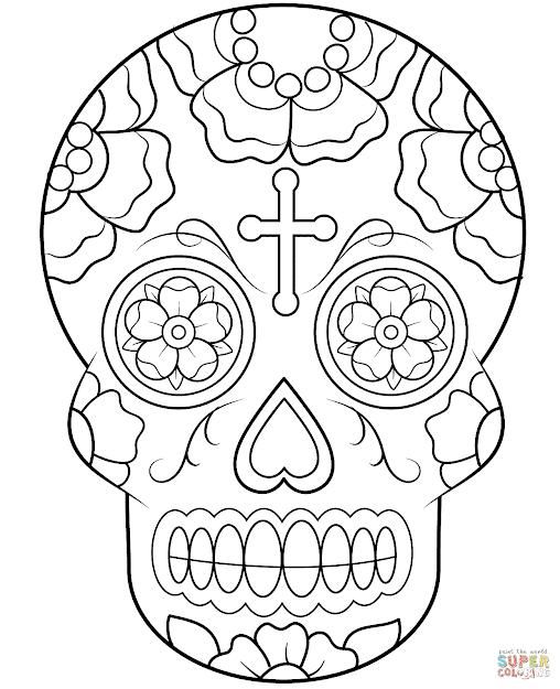 Calavera Sugar Skull