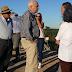 Puente de Sarandí del Yi: Ministro de Transporte realizó recorrida