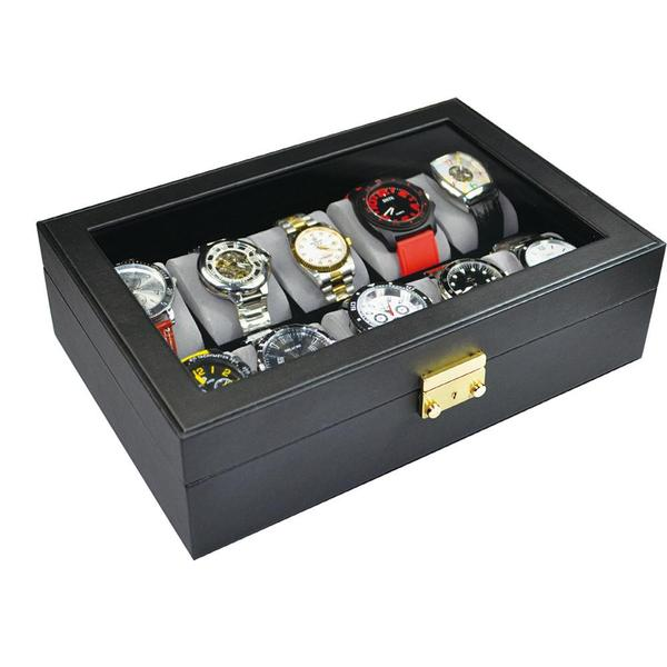 Shop Watch Case with Lock for 10 Watches at Nile Corp