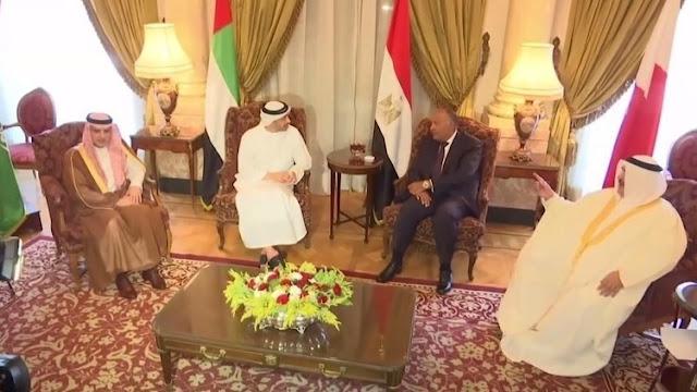 بيان تصعيدي جديد من السعودية والإمارات ومصر ضد قطر, بالنص