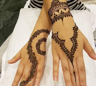 Contoh Henna Simple Kaki Makedes Com