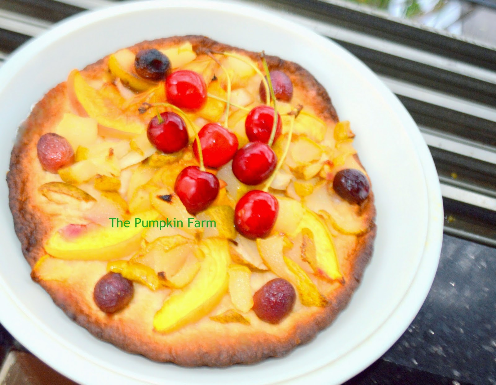 Cuisines Luxembourg Celebrating Food Quetschentaart Plum Peach And Cherry Tart