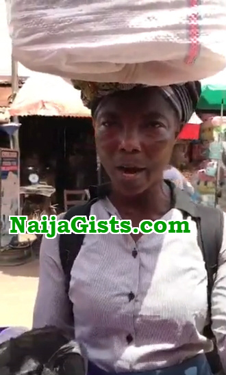 igbo woman thick american accent selling ogiri