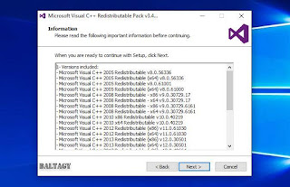 Microsoft Visual C++ Redistributable v3.4 Repack
