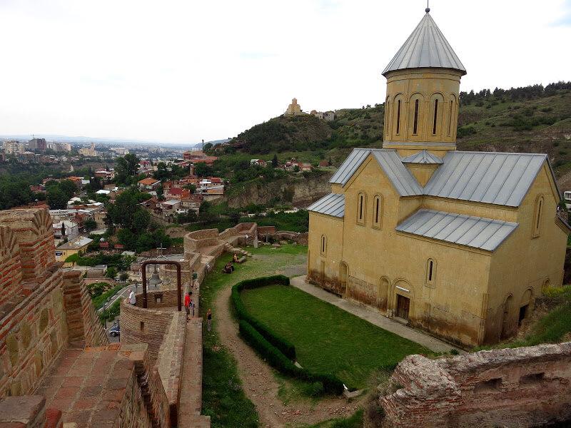 Saint Nicholas Church in Narikala Fortress