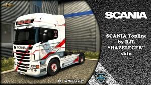 Scania RJL Hazeleger Skin